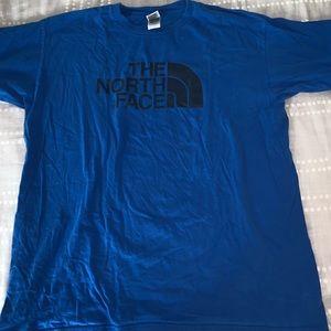 North Face tshirt